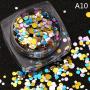 confetii unghii
